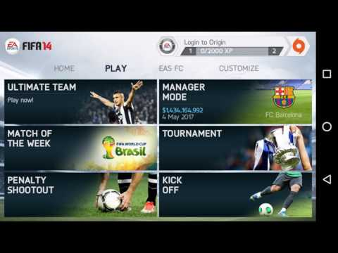 FIFA 14 Best Squad Ever (save file) with Mod Money (without root)
