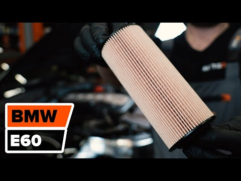 How to replace Engine Oil and Oil filter on BMW 5 E60 TUTORIAL | AUTODOC