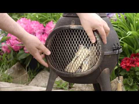 Easy Chiminea Peaches
