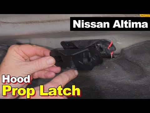 2005 Nissan Altima Hood Prop Hold-down