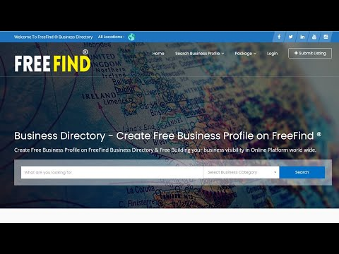 Free Business Listing Site efreefind