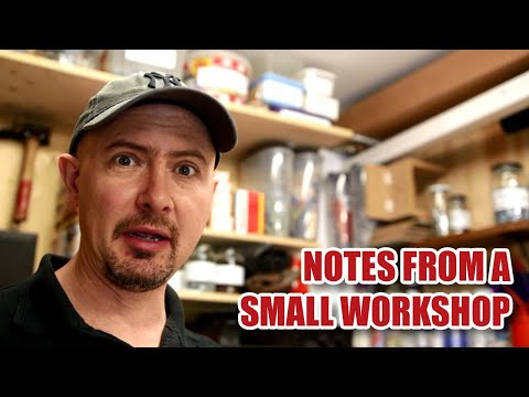 Notes from a Small Workshop #1 - Shop Update Joinery VLOG Nov 2017 [81]