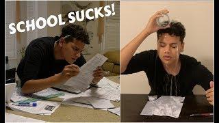 How I Study for my Exam vs The Exam Day (ft. Shahida)