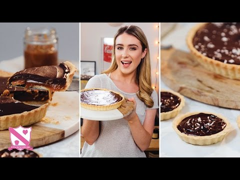 Salted Caramel Chocolate Tart - In The Kitchen With Kate
