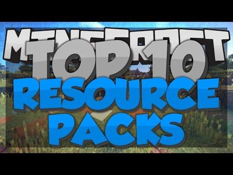 Top 10 Minecraft Resource Packs - Minecraft 1.8