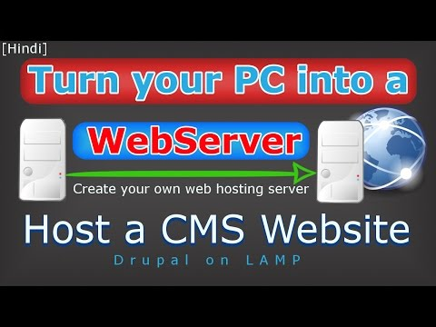 [Hindi] How to create own web hosting server | Host a website on your computer