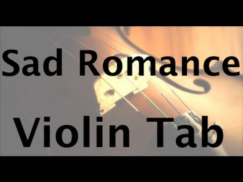 Learn Sad Romance on Violin - How to Play Tutorial