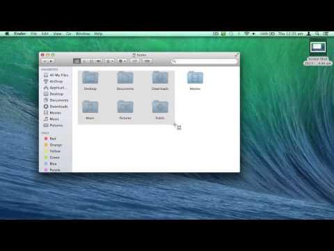 Taking Screenshots in Mac OS X Mavericks