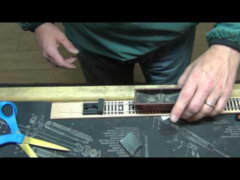 Making a HO Model Train Test Track