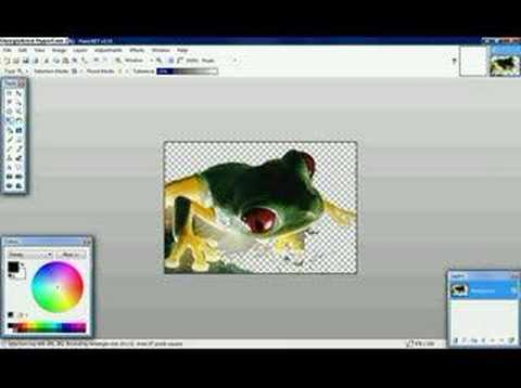 How to...render images transparent in Paint.NET