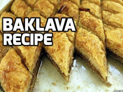 How To Make Turkish Baklava Recipe Video Tutorial | By Fabulous Recipes