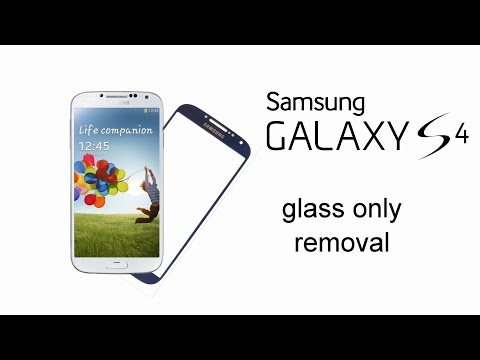 Samsung Galaxy S4 i9500 i9505 Glass Only Removal