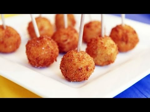 How to Make Mashed Potato Pops - Jalapeno Popper - Ballpark Fries