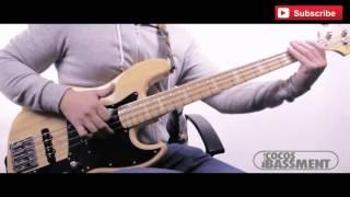 24k Magic - Bruno Mars (Extreme Slap) Crazy Bass solo *pdf included*