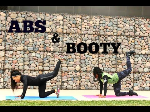 ABS and BOOTY FULL Workout -Keaira LaShae