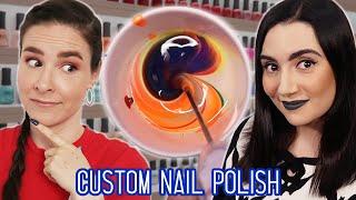 Making Custom Nail Polish Colors feat. Simply Nailogical