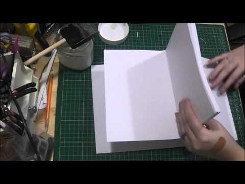 Bookbinding Tutorial Part Five - Putting Your Book Together