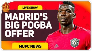 United Offered 4 Players for Pogba? Man Utd Transfer News