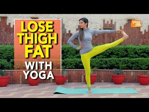 Yoga To Reduce Thigh Fat | Hand To Big Toe Pose | Yoga Tak
