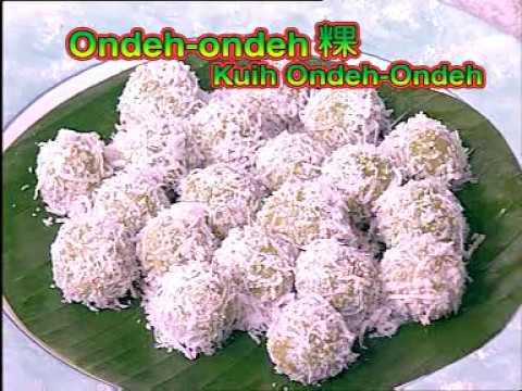 Kuih Ondeh-ondeh  #Nyonya Kuih Series # 2_R3