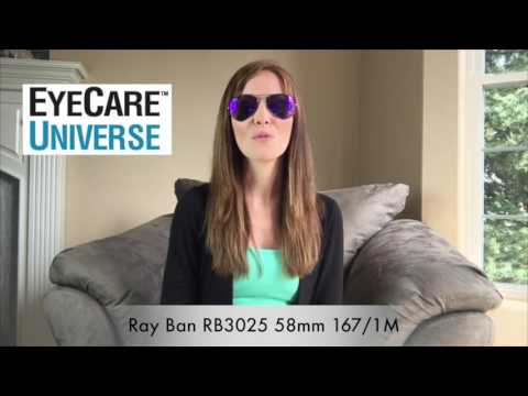 Ray-Ban RB3025 58mm 167/1M