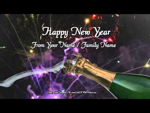 A Magical New Years Greeting For Websites, YouTube, Facebook & Emails