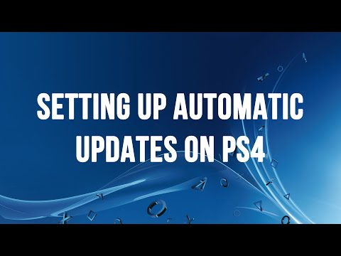 Setting Up Automatic Updates on PS4