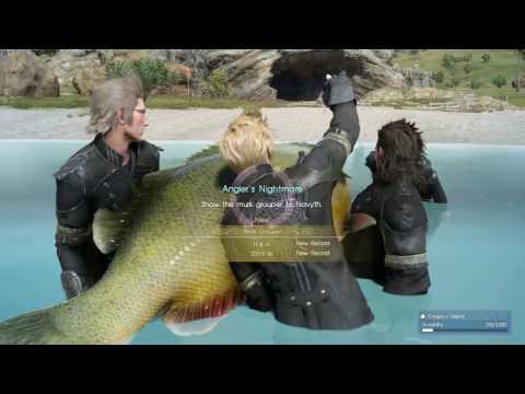 Final Fantasy XV | Angler's Nightmare Quest |