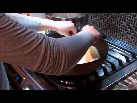 How to make Russian Crepes Filled with meat