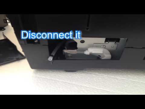 Waste ink potty fitting to Epson 1500w 1430 SIMBITS DTG How to