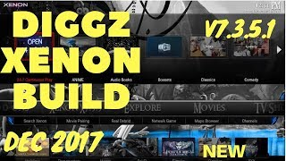 DIGGZ XENON BUILD V7 3 5 2 with SEMPLICE FOR KODI KRYPTON FROM DIGGZ
