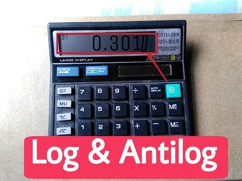 #HOW TO FIND LOG | ANTILOG USING SIMPLE 🔥CALCULATOR | IN HINDI |  MJO TECH