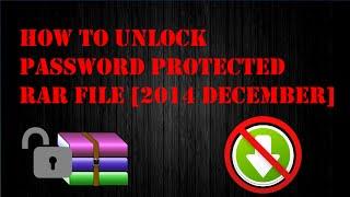 RAR Password Unlocker แก้ไขไฟล์ติดรหัสผ่านของ Winrar - PakVim net HD