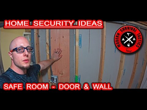 Safe room building overview / DOOR AND WALL