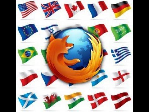 How can I change Firefox language