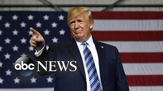 Intensifying war of words between Trump and Rep. Tlaib