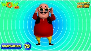 Motu Patlu - 6 episodes in 1 hour | 3D Animation for kids | #79