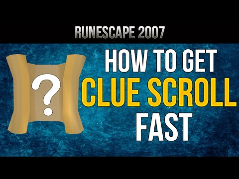 Runescape 2007: How to Get Clue Scrolls Fast | Guide 2016 [HD]