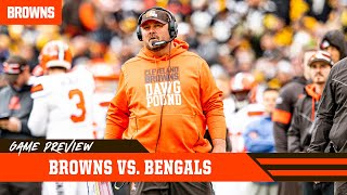 Exclusive Bengals game preview with Freddie Kitchens | Cleveland Browns