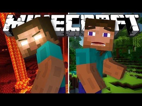 The Story of Herobrine - (Minecraft Mod Showcase & Machinima)