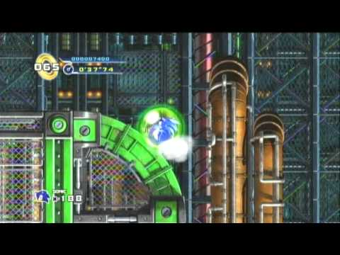 Sonic 4 Episode 1 Score Attack: 112,200 - Mad Gear Act 1 (Sonic)