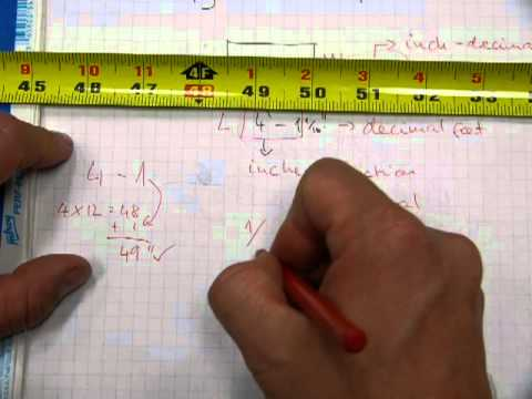 Multiply (or divide) measurements in feet-inches