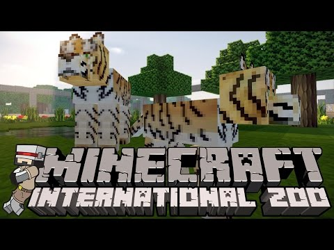 Minecraft International Zoo (MIZ) S2 - WE HAVE A BABY TIGER!!! (Minecraft 1.8 Custom Modpack)