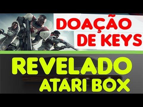 ATARI BOX DESIGN REVELADO E + / Doação Keys BETA FECHADO DESTINY 2 ETC