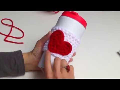 How to Crochet a Heart Applique
