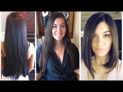 Long to Bob Haircut Makeover | From Long Hair to Bob Cut - Long to Bob Hair Cut