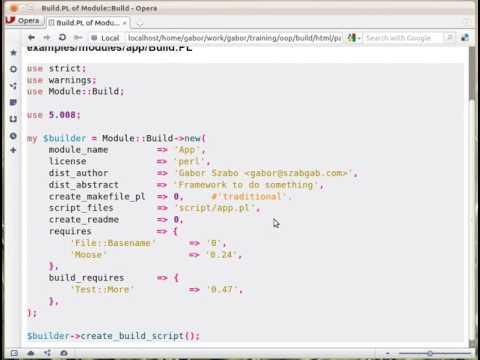 Build.PL of Module::Build