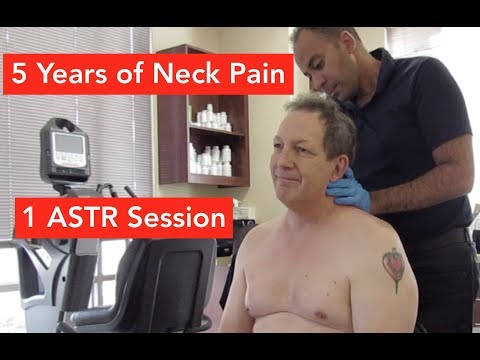 Neck Pain for 5 Years Relieved Before You Know It!
