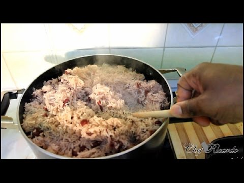 The Worlds Best Jamaican Rice & Peas Recipe Video Tradition Style | Recipes By Chef Ricardo