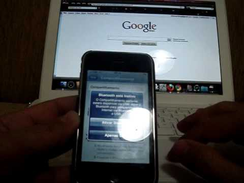 Configurando o iPhone como modem 3G em um Macbook sem Jailbreak